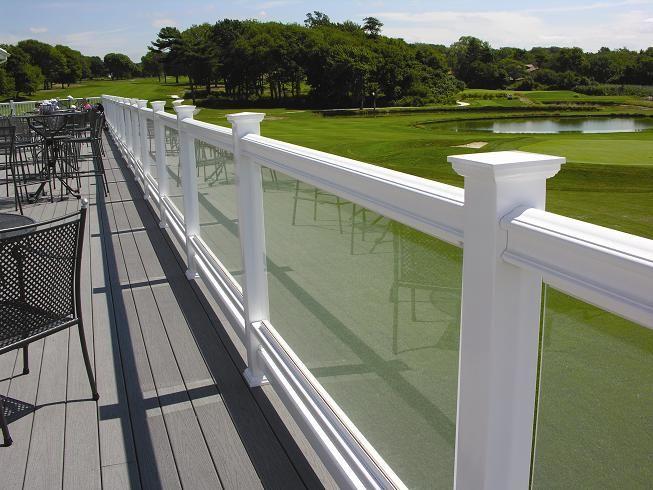 Deck Railing Avec Images Balcon Verre Balustrade Terrasse Garde Corps Bois