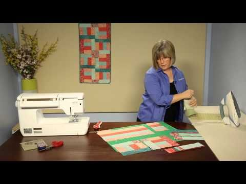 How to Make This Quilt: Tempo table runner - YouTube