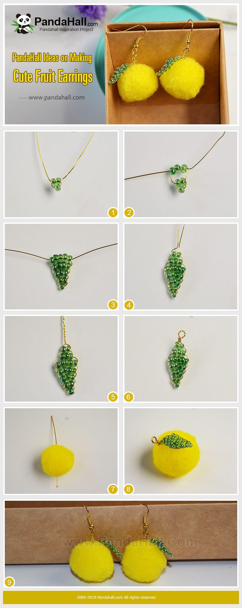 Pandahall Ideas On Making Cute Fruit Earrings Pandahall Jewelry