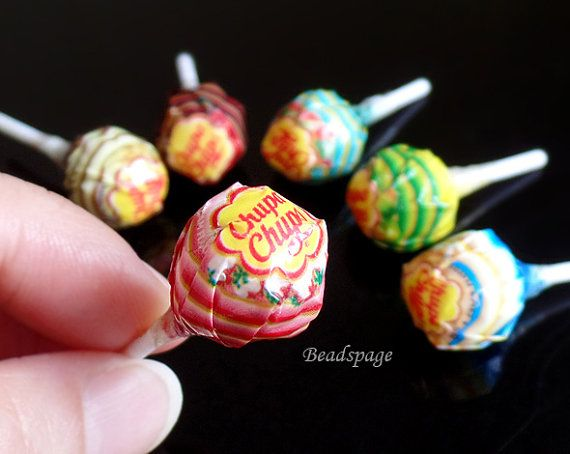 Miniature Candy Sweets Lollipop  1:4 scale BJD MSD by BEADSPAGE