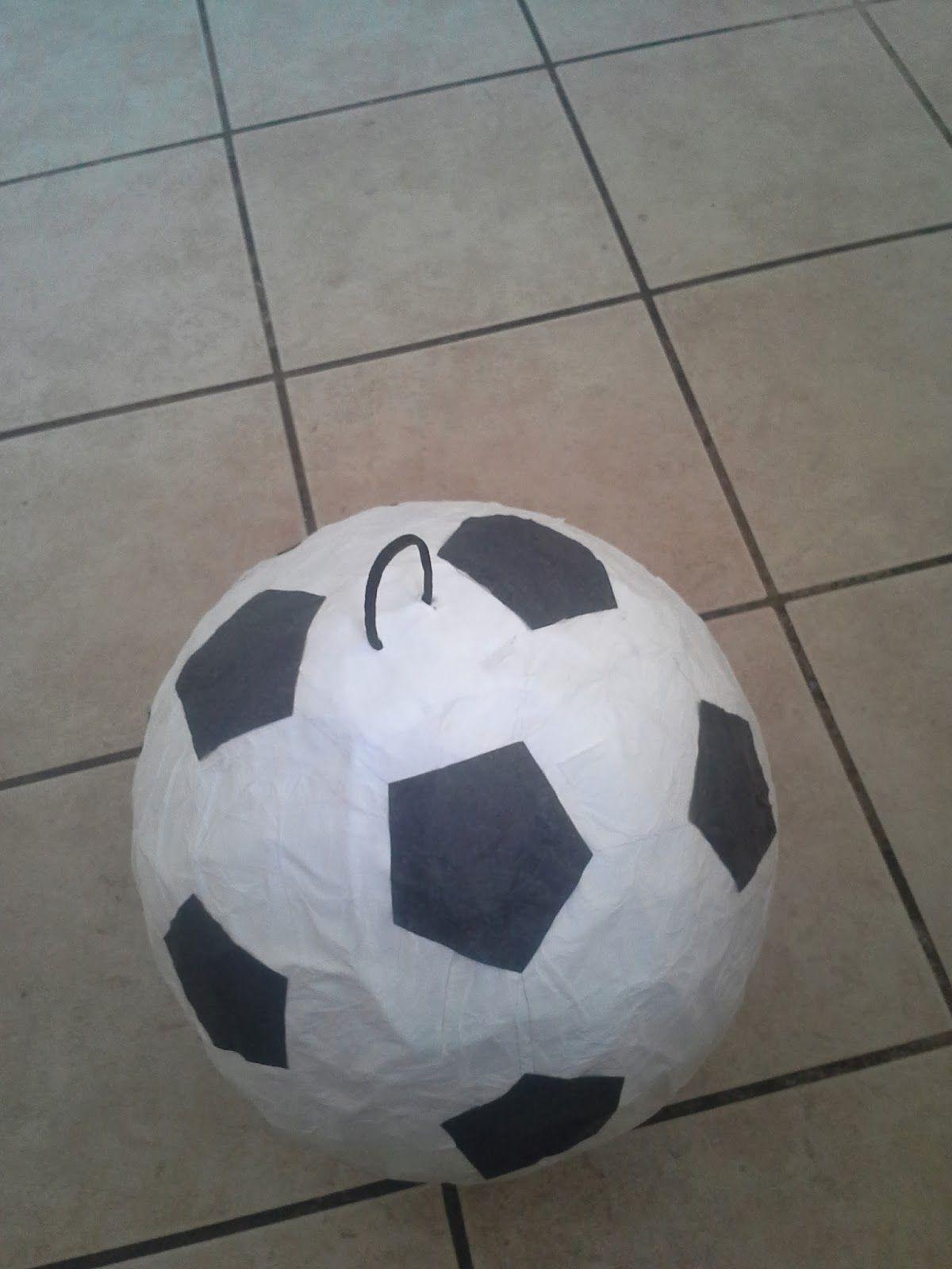 This Lovely-Crazy-Fun Life: Soccer Ball Shaped Piñata