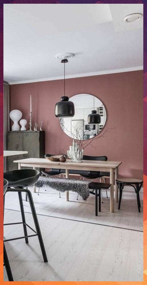 Photo of Idées de déco pour un salon rose et noir – Neue Deko-Ideen