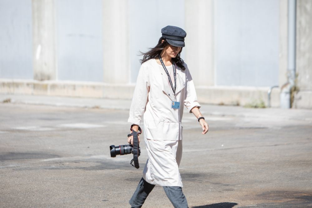 Street style en Madrid Fashion Week: Día 2 septiembre 2017