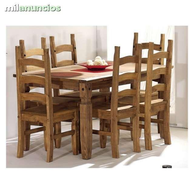 mesas y sillas rusticas mexicana foto 1 restaurante
