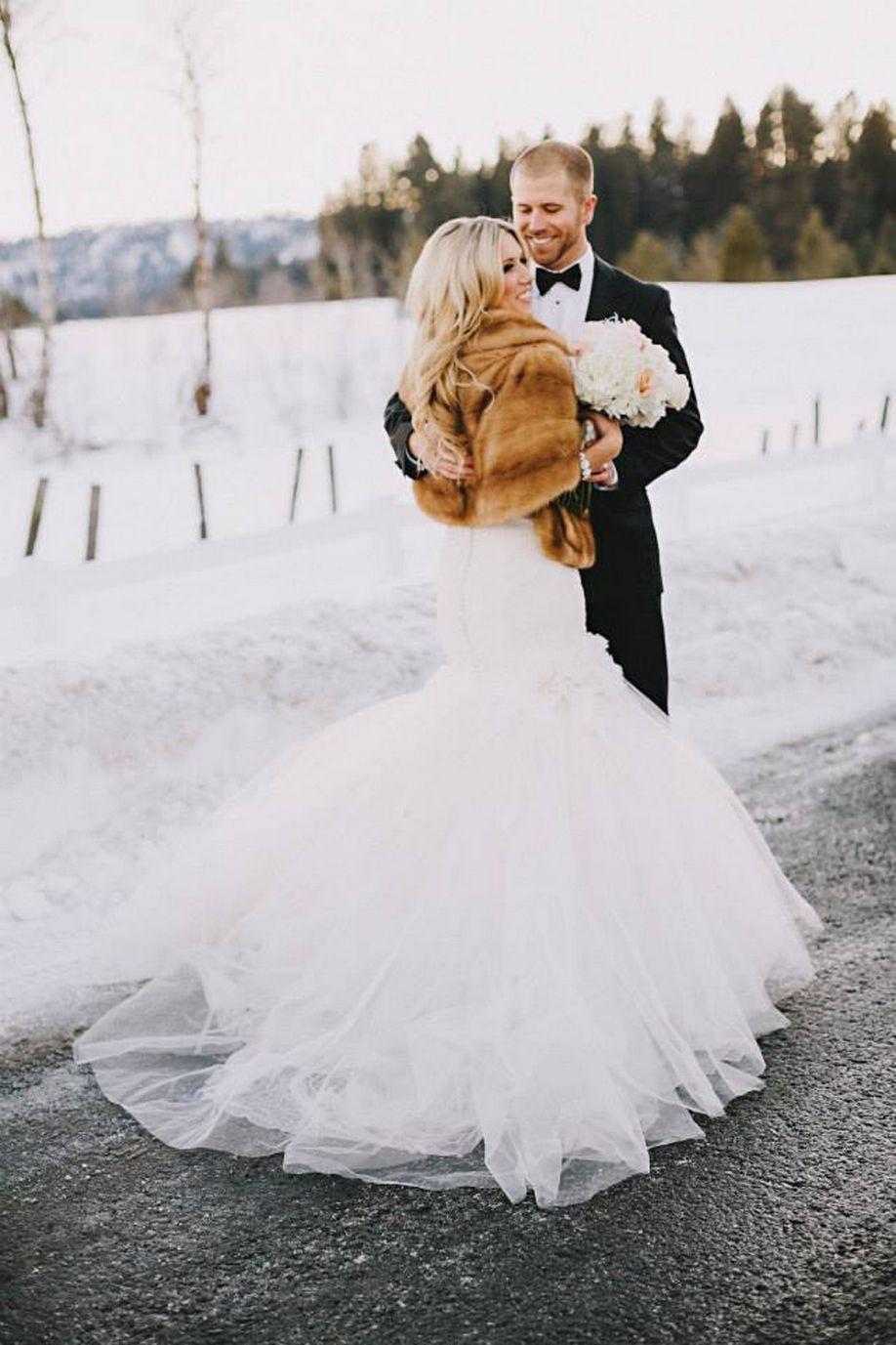 100+ Amazing Wedding Dresses Styles for Winter Wonderland Weddings