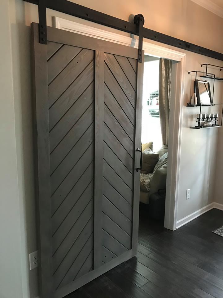 Waxhaw Rustic Custom Doors Planks Designs Builds And Installs Barn Doors For Any Type Interior Rustic Doors Barn Door Installation Interior Barn Doors