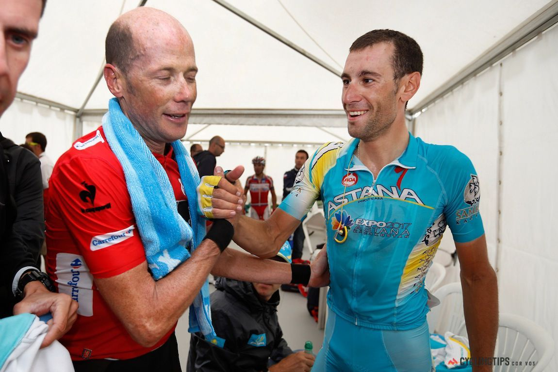 Lauren Davies Cycling: Vincenzo Nibali Congratulates Chris Horner After Stage 20