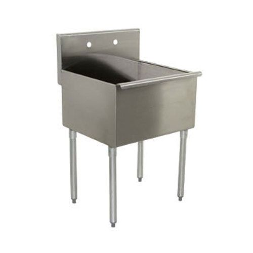 Regency 24 16 Gauge Stainless Steel One Compartment Commercial
