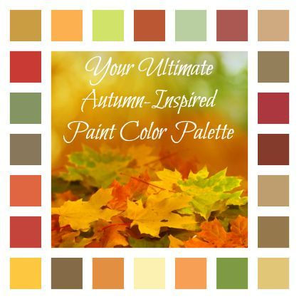 24 Autumn-Inspired Paint Colors to \