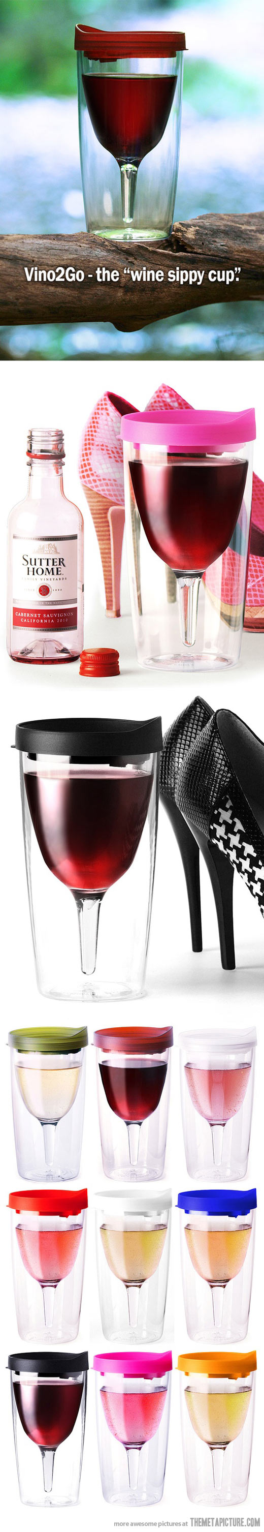 Wine Sippy Cup…