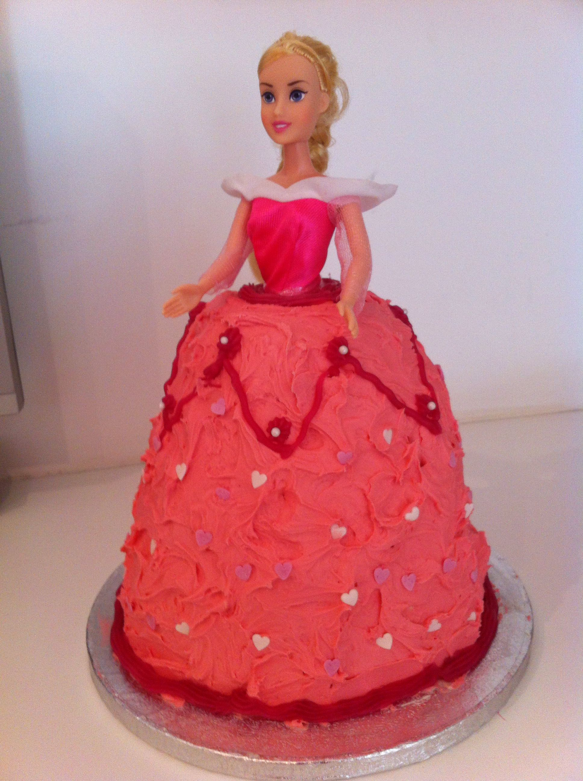 Gabys 3rd bday cake. Made by me