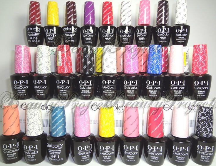 Opi Gelcolor Soak Off Gel Nail Polish Led Uv Pick Your Color 5oz 100 Authentic Ebay Opi Gel Polish Gel Nail Colors Nail Polish