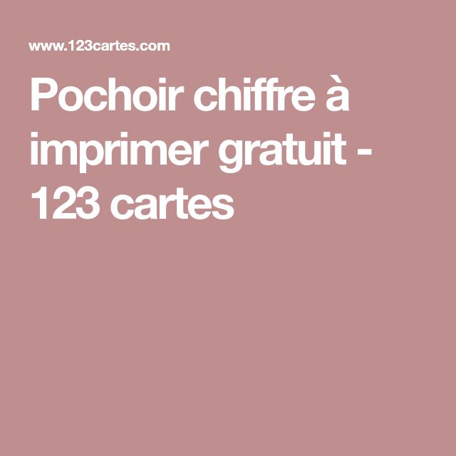 Pochoir chiffre imprimer gratuit 123 cartes chiffre - Chiffre a imprimer gratuit ...