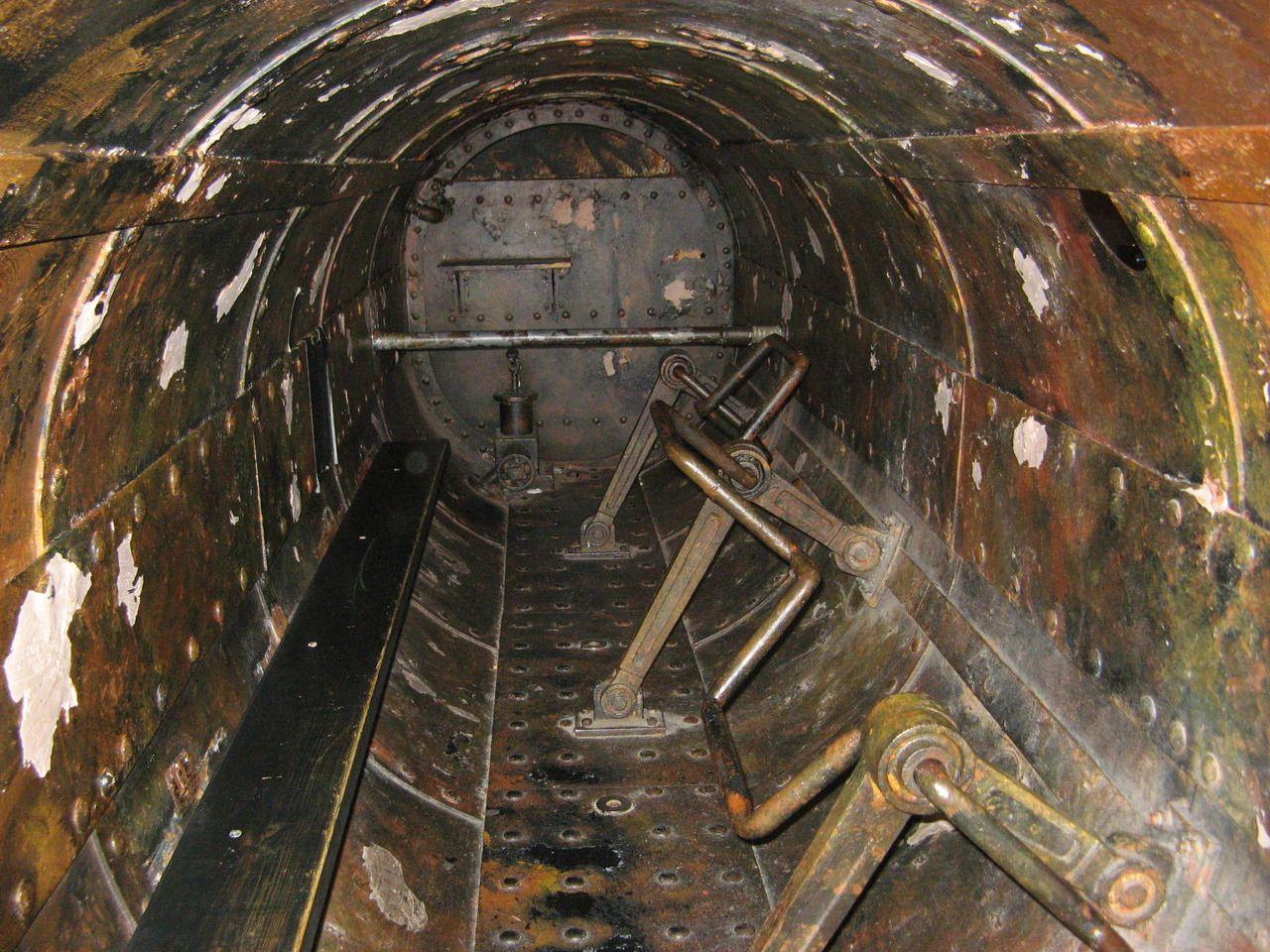 первая затонувшая подводная лодка