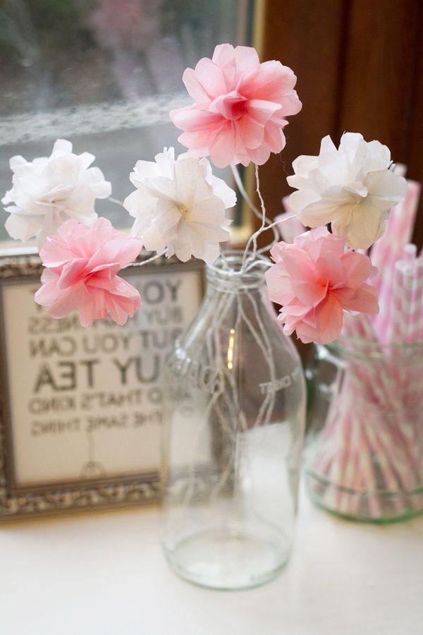 Blumen basteln - 3 Anleitungen und 30 tolle Ideen - Deko \ Feiern, DIY - blumen basteln