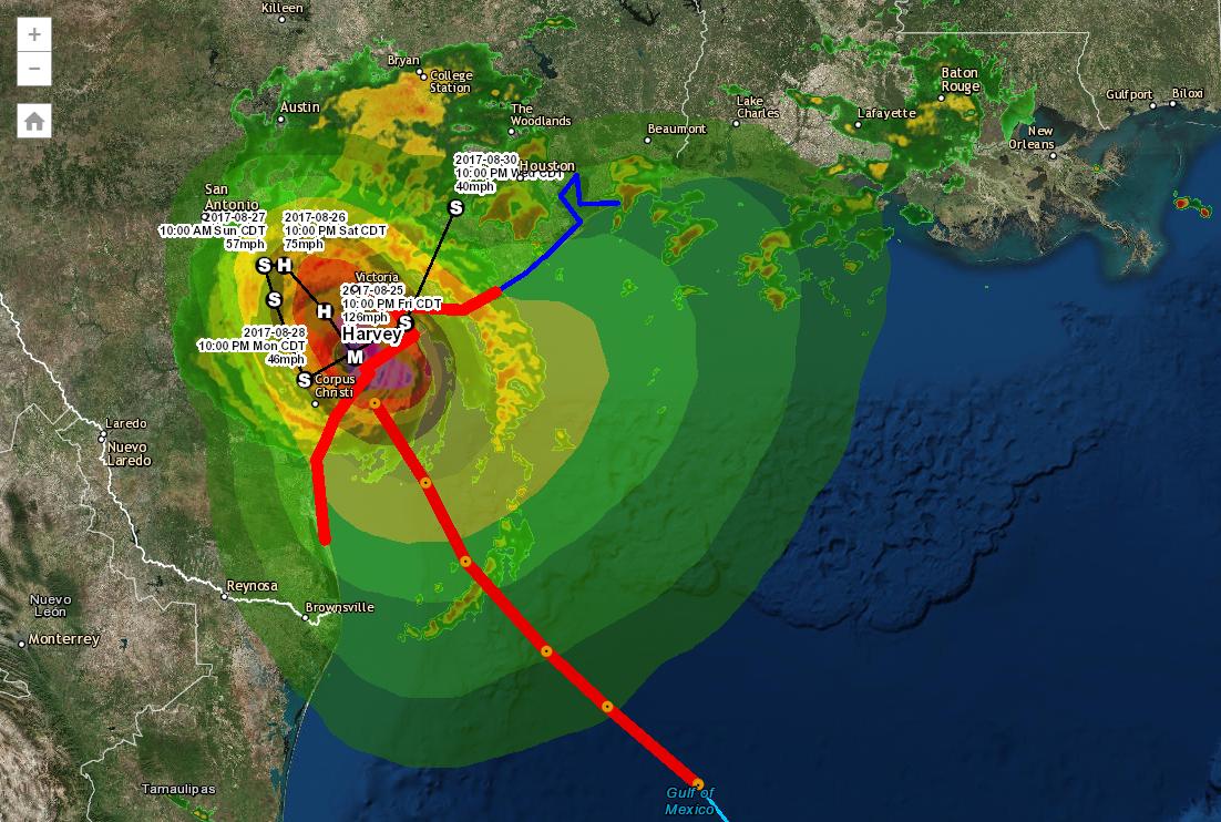 Hurricane Tropical Cyclone Public Information Map Vivid Maps Tropical Cyclone Hurricane
