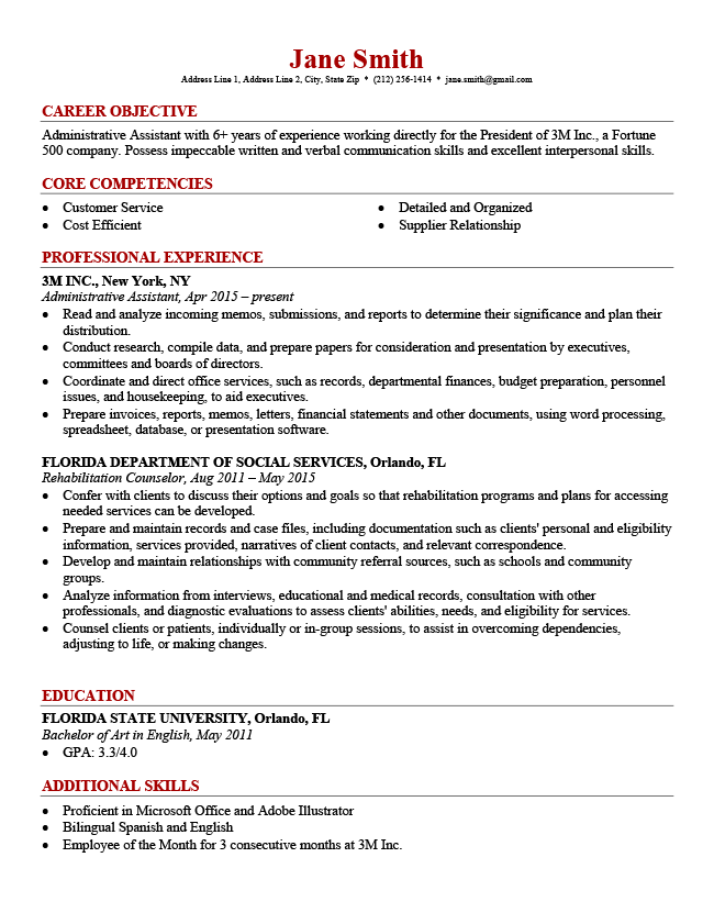 Professional Brick Red Rg Resume Template Word Resume Templates Free Resume Template Download
