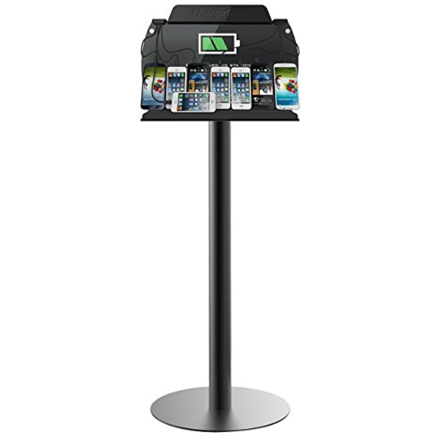 948cedf3616 ChargeTech - Tower Floor Stand Cell Phone Charging Station w ...