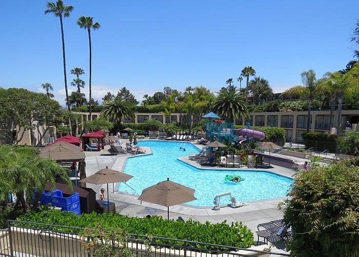 Pool Fun At The Hyatt Regency Newport Beach Hotels