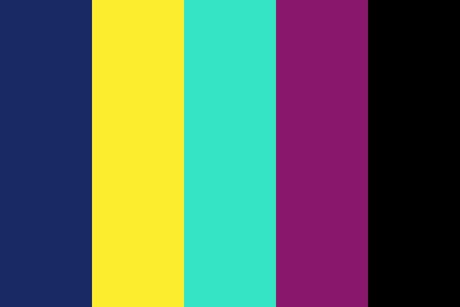 Tropical Reef Color Palette #color #colorschemes # ...