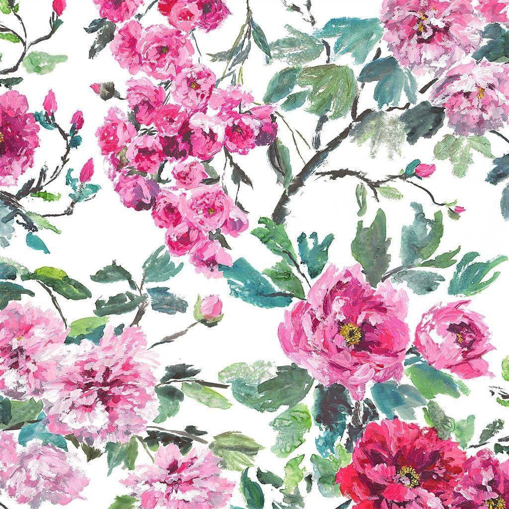 shanghai garden peony fabric Designers Guild Master