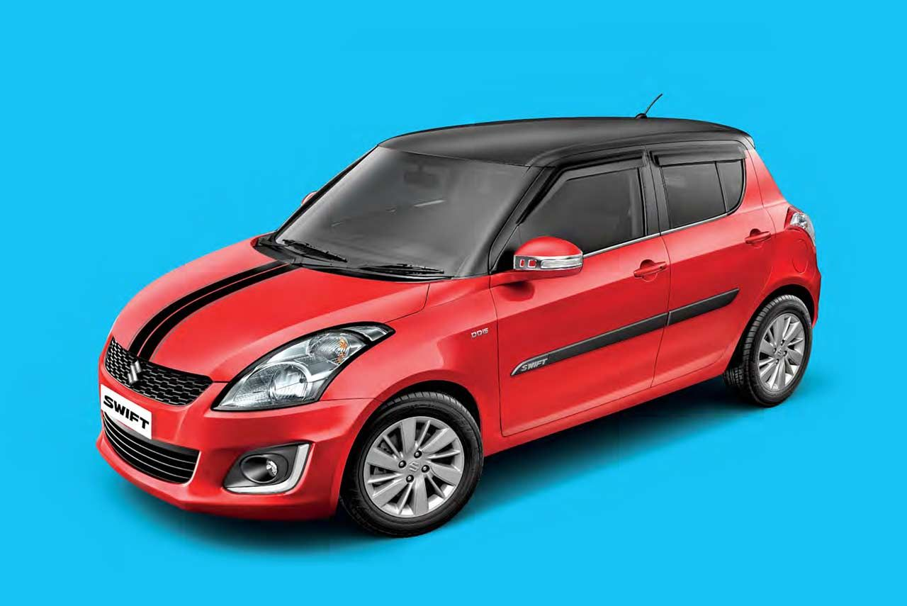 Icreate Unique Personalization Experience Introduced For The Maruti Suzuki Swift Customers Buying A New Car Can Opt From Over Suzuki Swift Suzuki Used Cars