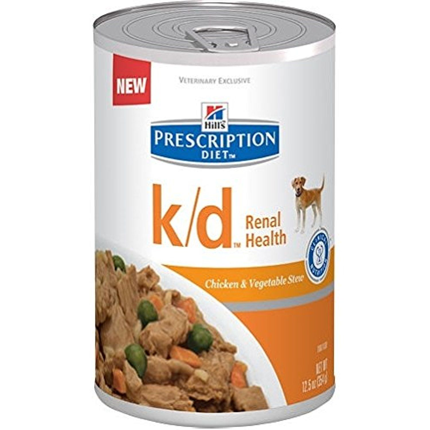Hills prescription diet kd canine renal health with