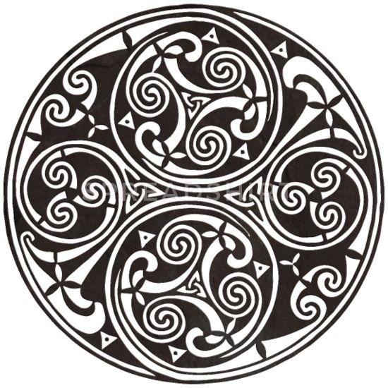 Celtic Knot Mandala Tattoo Mouse Pad | Spreadshirt