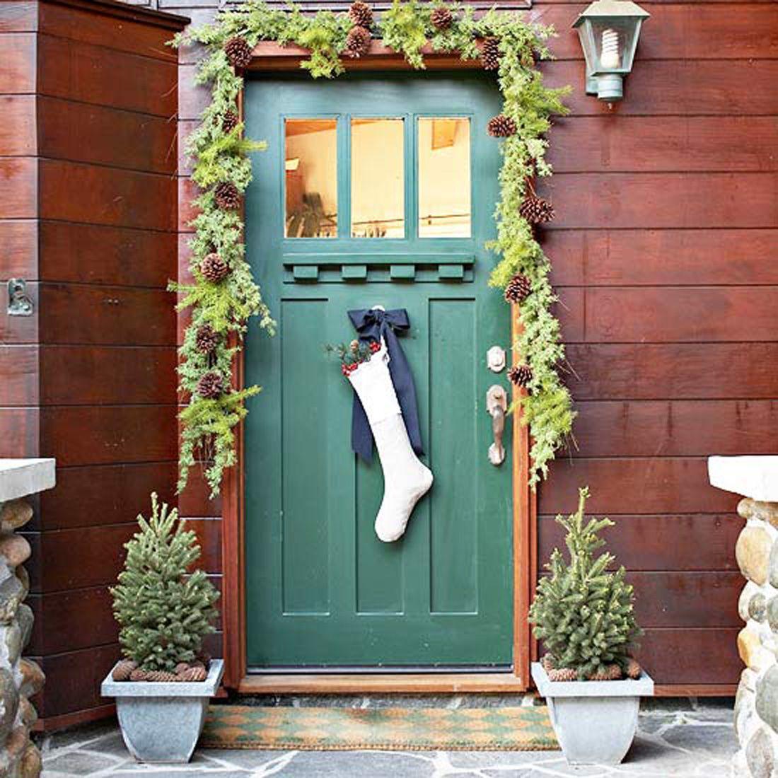 Front Door Decorations Christmas Front Door Decorations 11g