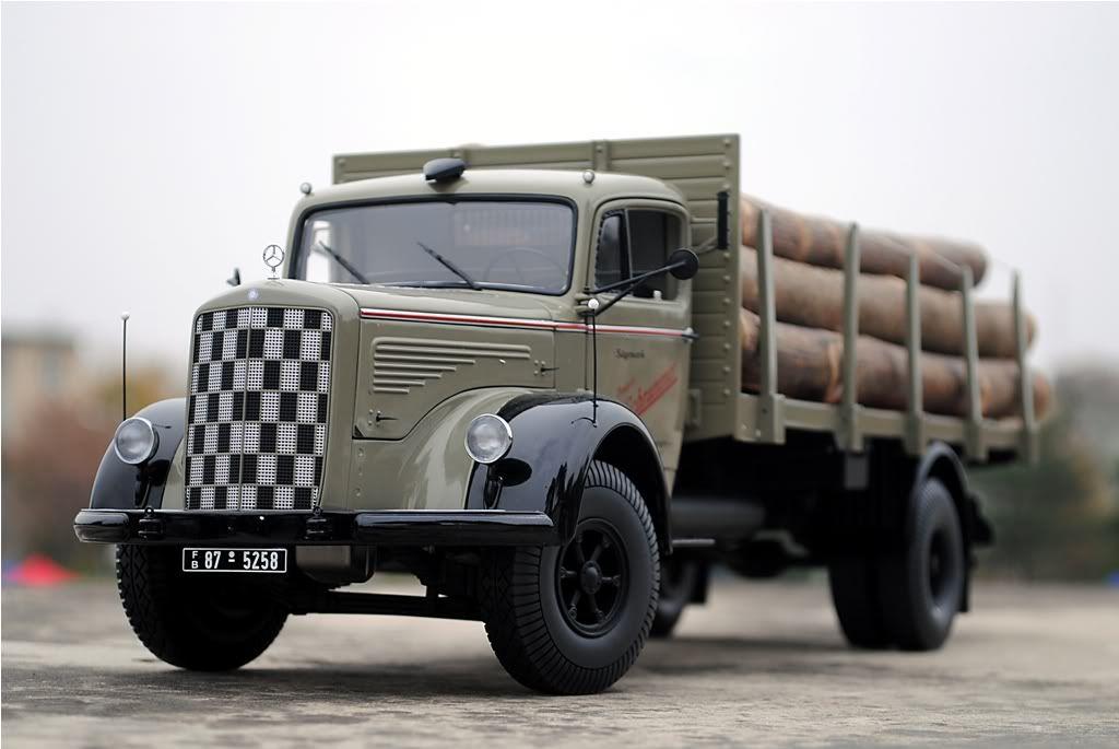 1 18 Mercedes Benz Truck By Schuco Diecast Mercedes Benz Trucks
