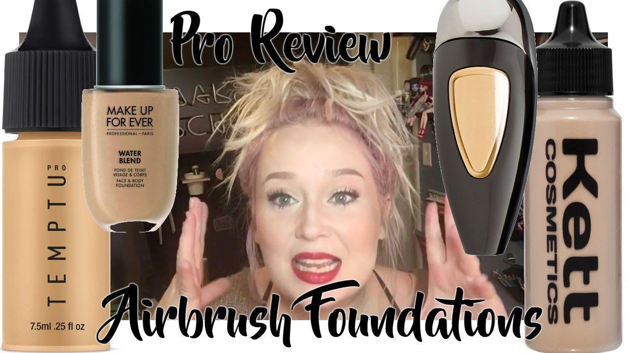 Airbrush Pro ReviewTemptu SB, Hydra Lock, Water Blend