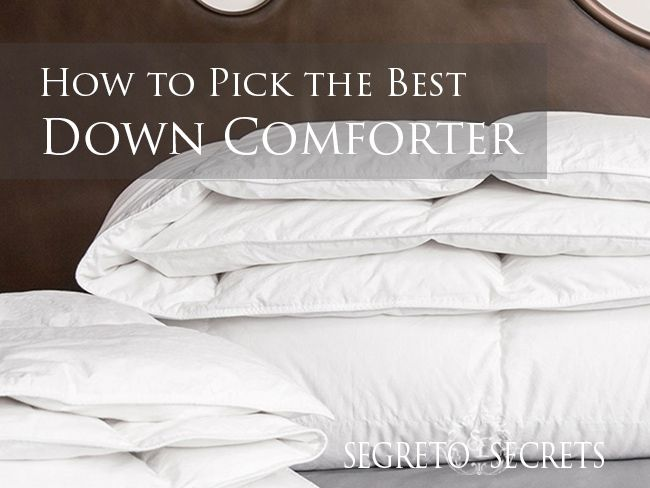 How To Pick The Best Down Comforter Bedrooms Down Comforter