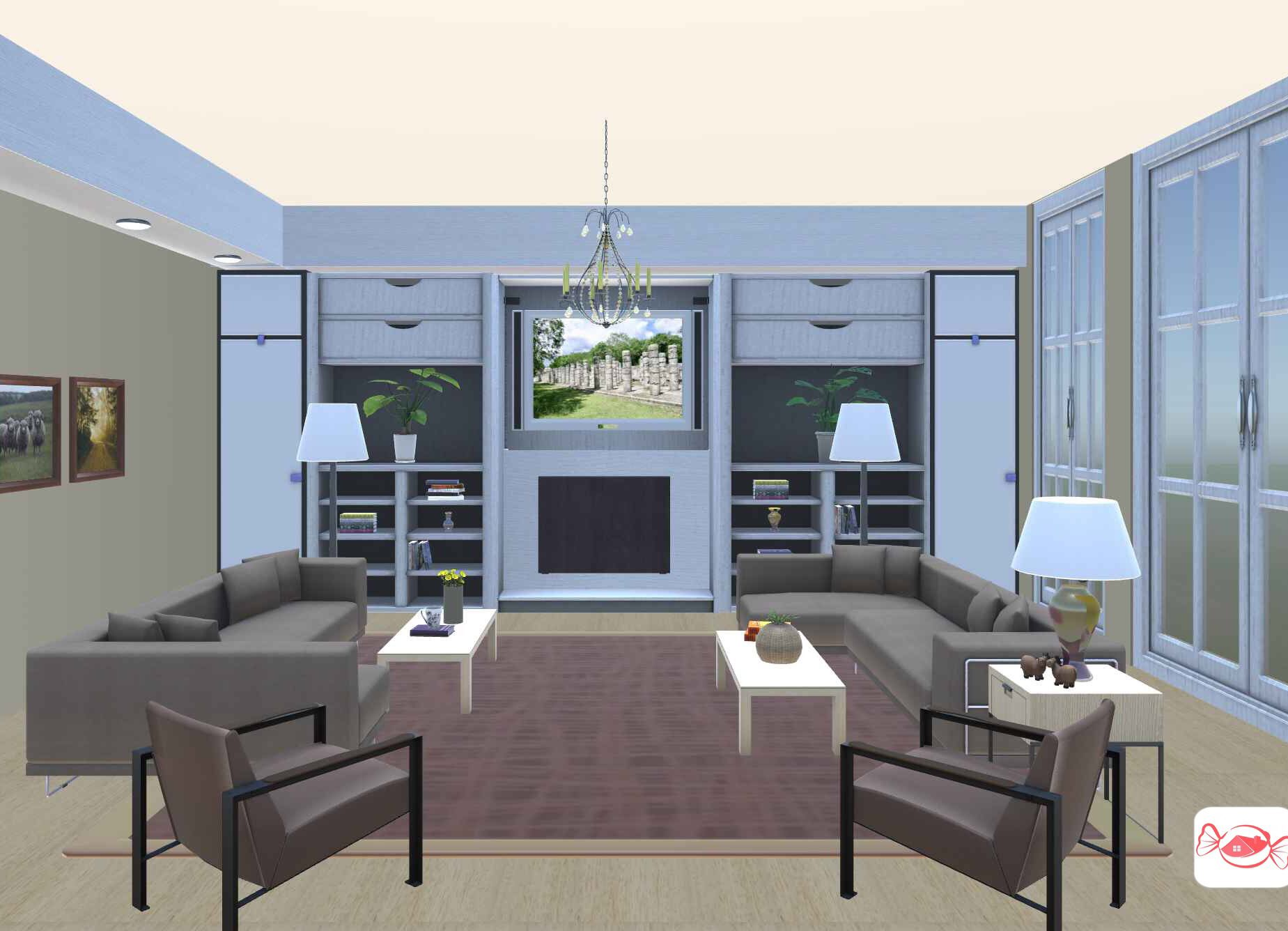 Living room Design your own home, 3d home design, Home
