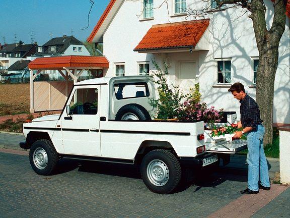 Mercedes Benz 290 Gd Pickup 1992 1997 Dengan Gambar