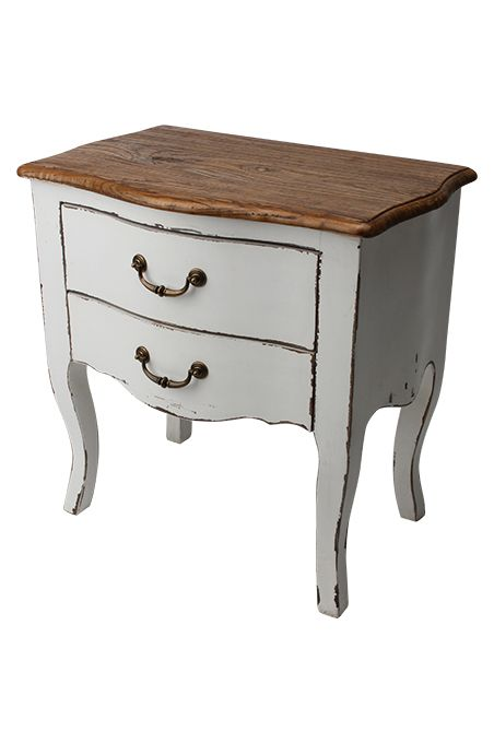 Furniture : French Provincial 2 Drawer Bedside Cabinet | Bedroom ...