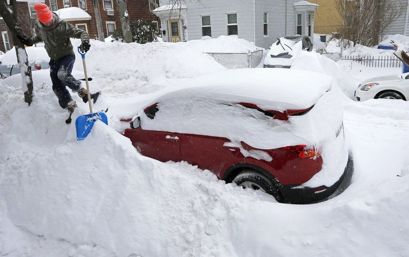 Snowfall obliterates records in boston another winter