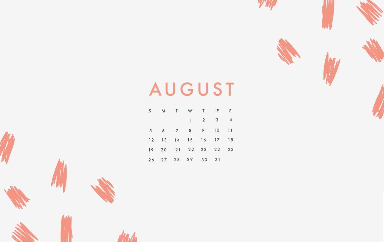 August 2018 Desktop Hd Calendar Pc Hintergrundbilder Hintergrundbilder Hintergrund
