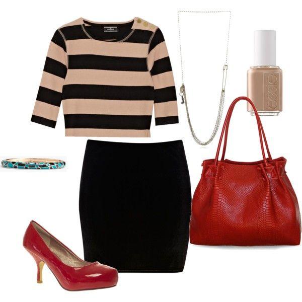 I need a little longer skirt!  But Cute!