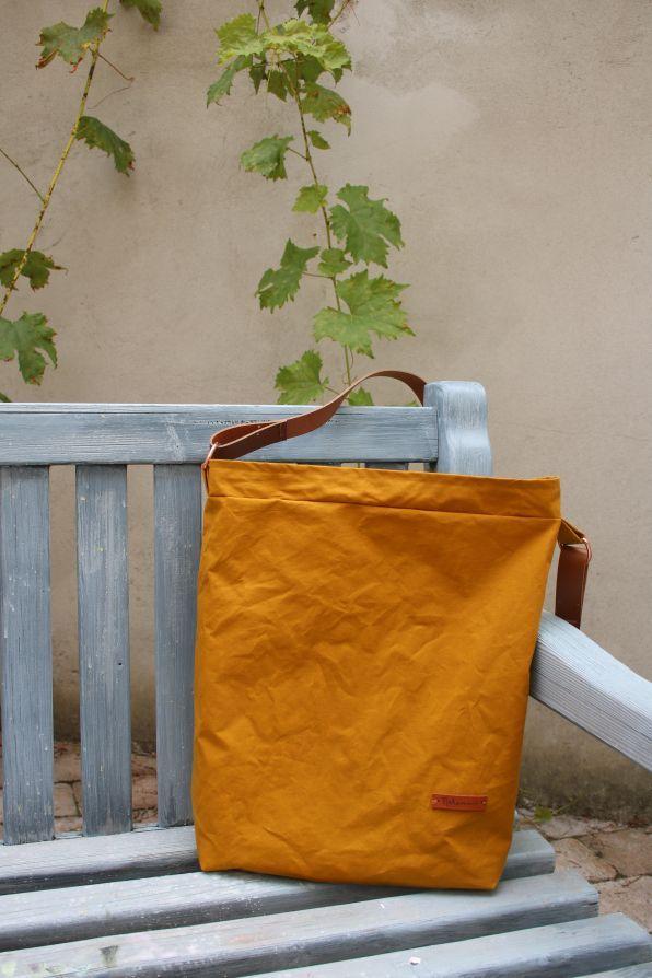 Dry Oilskin… meine neue, allerliebste Tasche… mit Tutorial… los geht's!  - Selbstgemachtes -