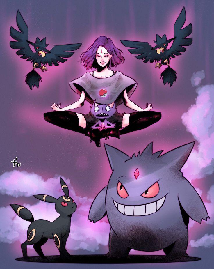 Artstation - The Gym Leader Raven , Olifux Art  Teen -6716