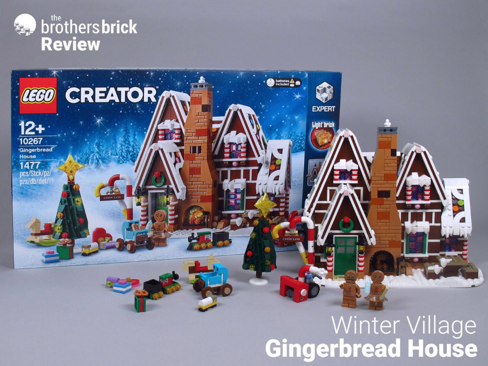Devour the delicious LEGO 10267 Winter Village Gingerbread