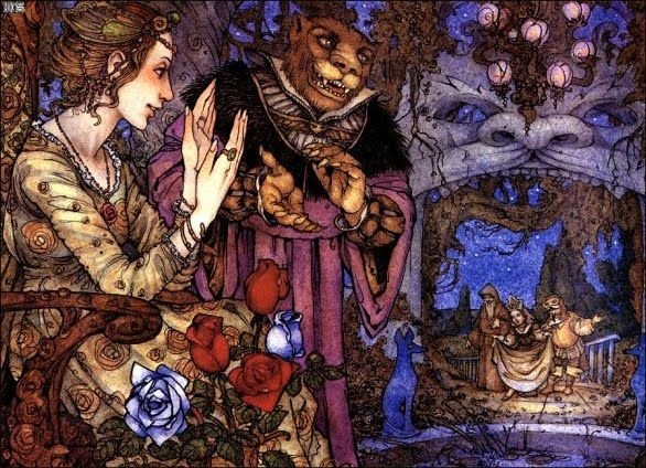 Mercer Mayer, Beauty and the Beast | Beauty and the beast art ...