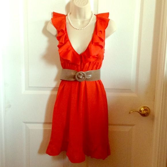"""✂️40%off✂️Asospetite Dress. ( Not belt ) 100% Viscose. Has zipper on the side. Chest: 30"""" Asospetite Dresses"""