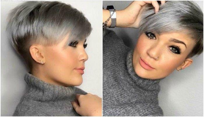 Tagli corti per capelli grigi 2019
