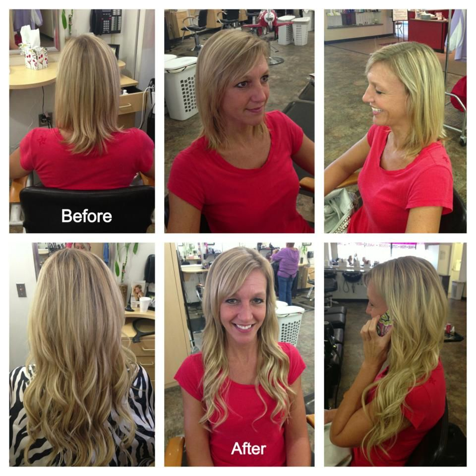 Klix Hair Extensions By Mandy Marie Darla Co Hair Salon Day Spa