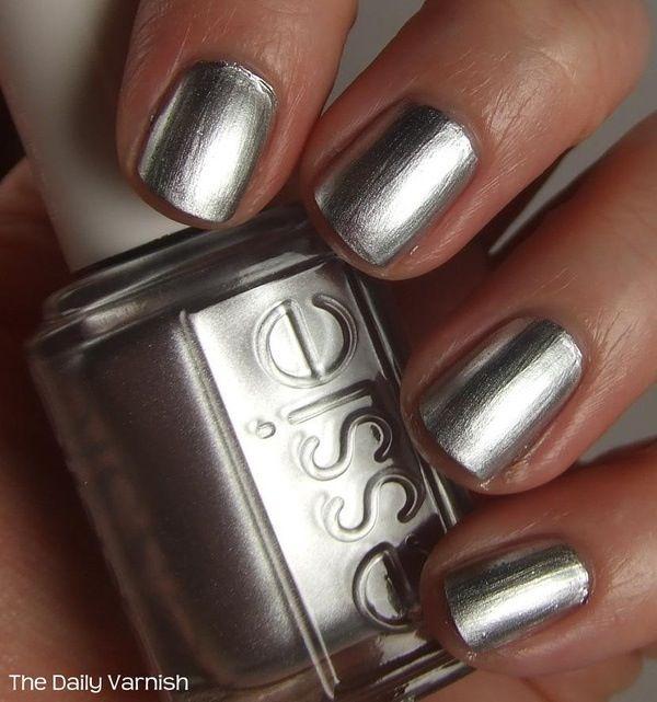 Essie no place like chrome ♡ | polished. | Pinterest | Mani pedi ...