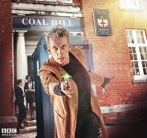 New Portraits from this week's episode of Doctor Who. Episode 6 'The Caretaker' premieres Saturday, September 27th at 9/8c on BBC America.