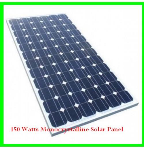 150 Watts Monocrystalline Solar Panel Solar Panels Monocrystalline Solar Panels Paneling
