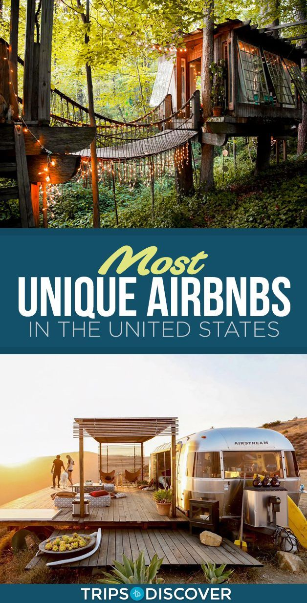 11 Most Unique Airbnbs in the United States -   19 travel destinations United States adventure ideas