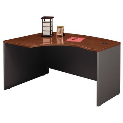 Bush Business Furniture Series C Right Bow Corner Desk Shell